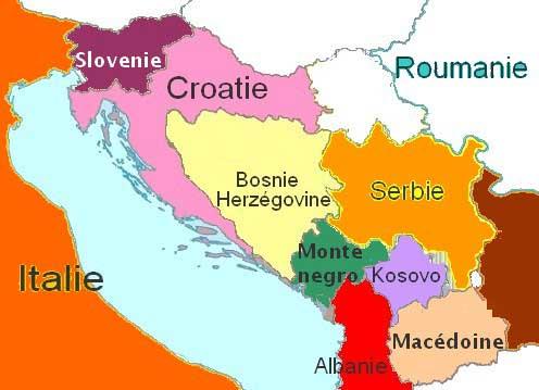 Pays des Balkans