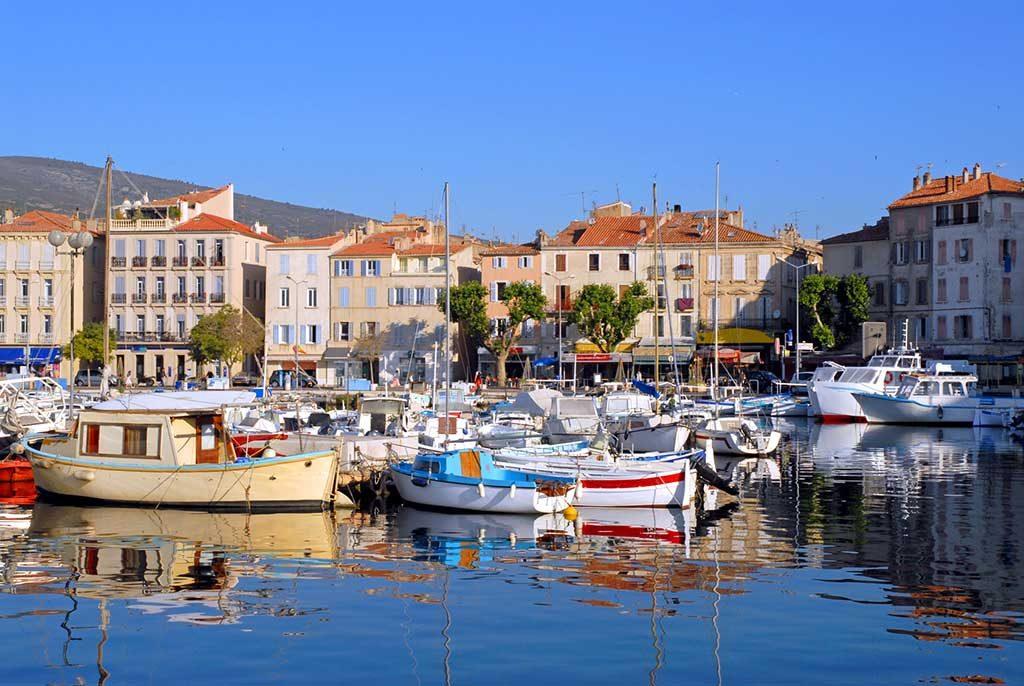Photo du port de la Ciotat