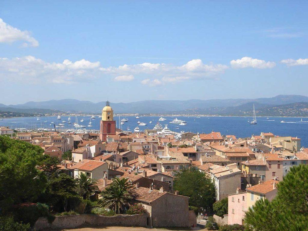 Ville de Saint Tropez - Panorama
