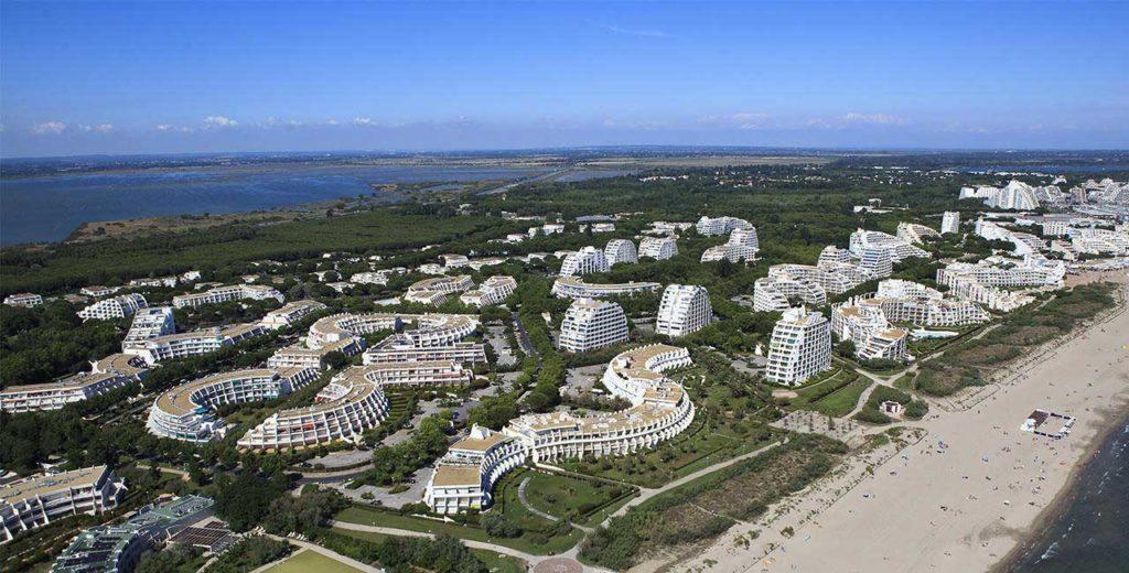 Grande Motte - Photo panoramique