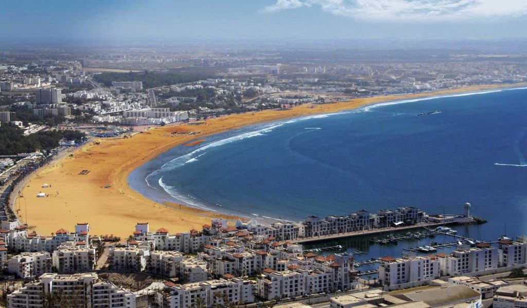 Photo panoramique de Agadir