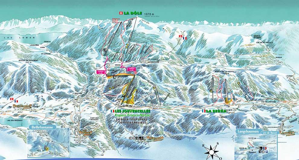 Les Rousses - Pistes de ski