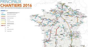 Carte du TGV