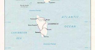 Carte Guadeloupe Martinique