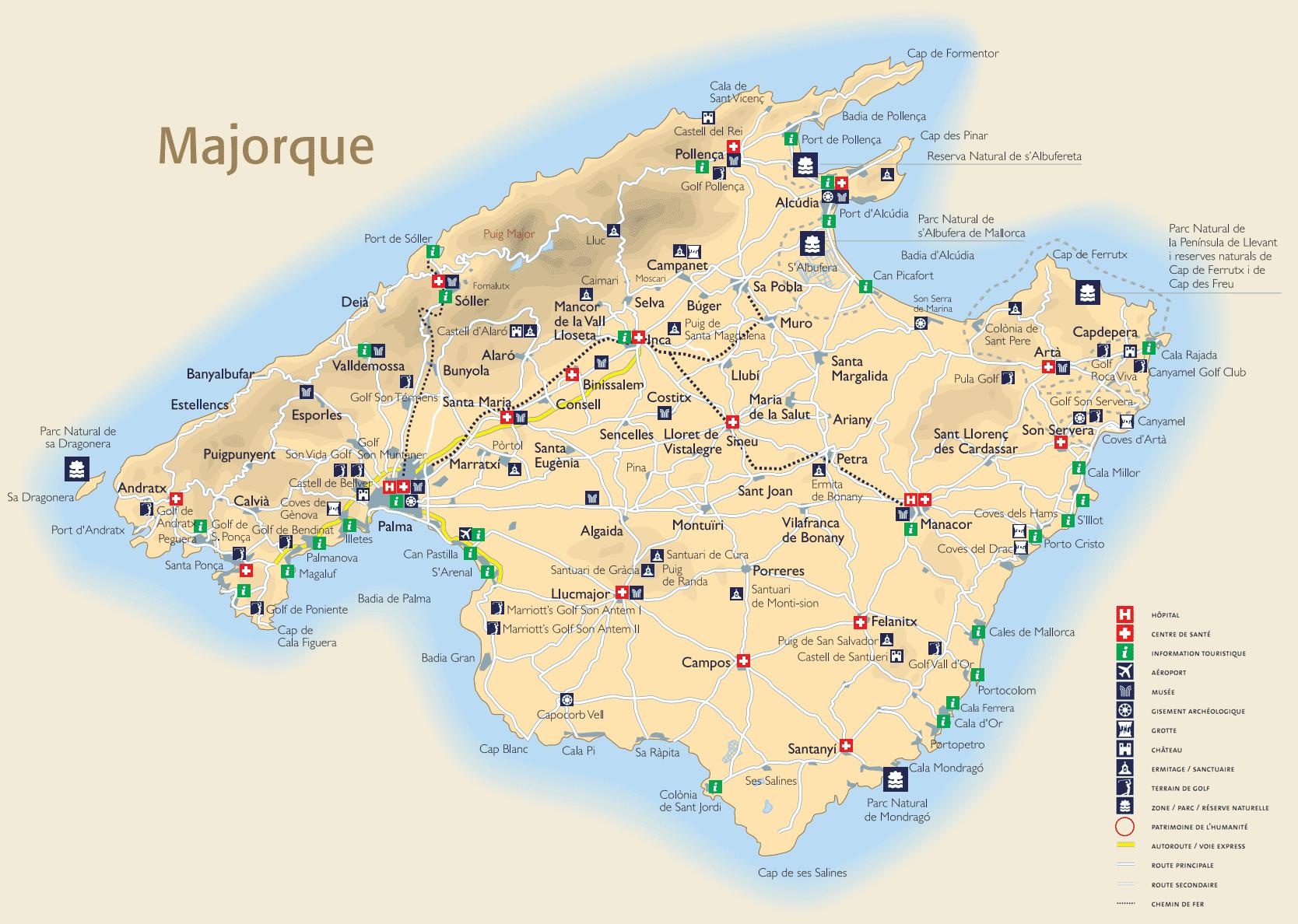 Liste Villes  Ef Bf Bdle Majorque