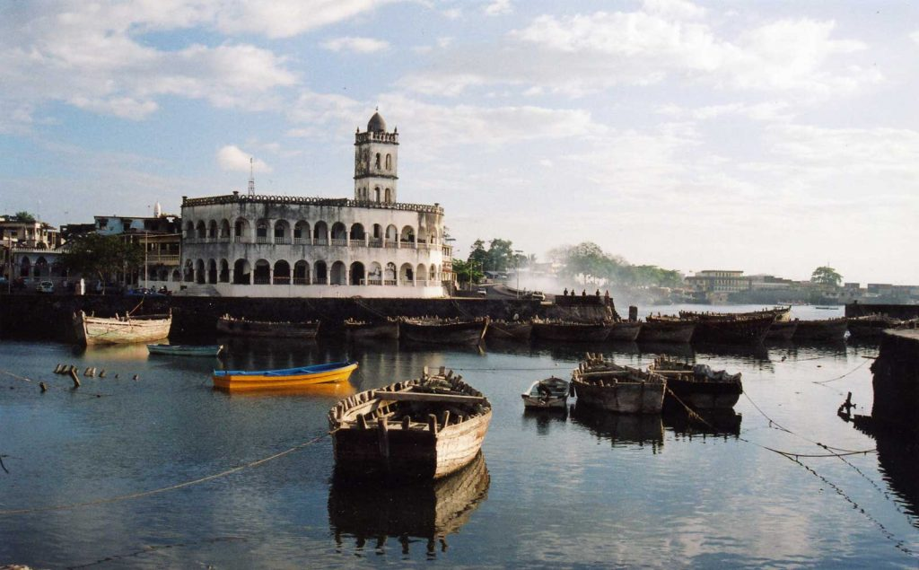 Paysage des Comores