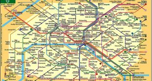 Plan - Métro Paris