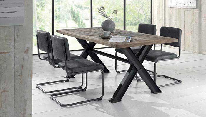 Grande table indus