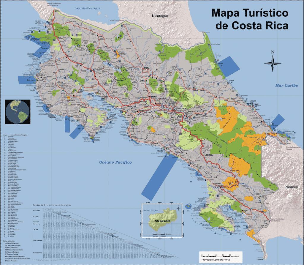 Costa Rica - géographie