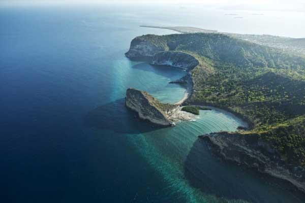 Mayotte - Photo vue du ciel