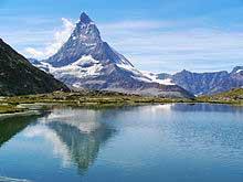 Reflex image montagne