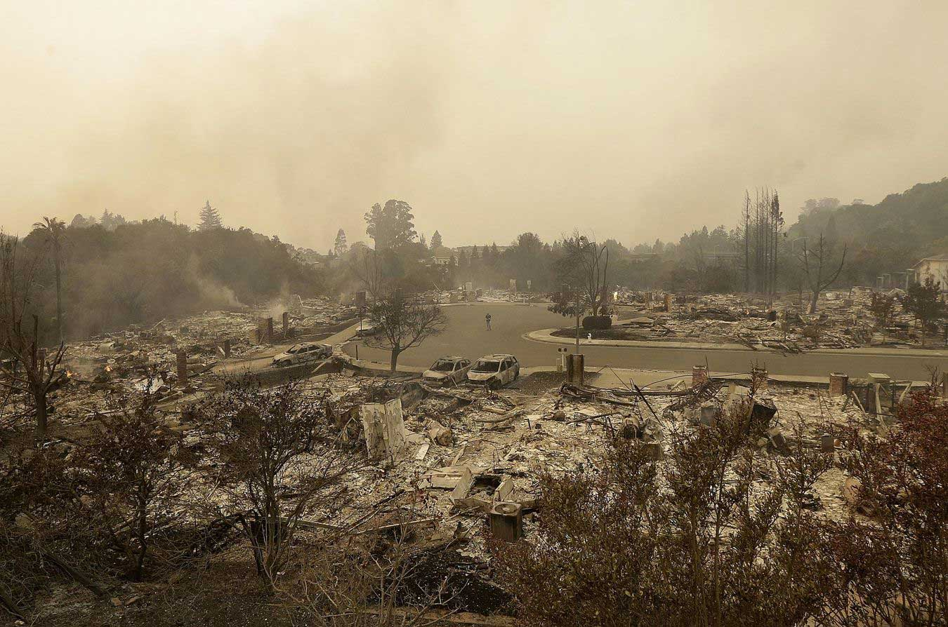 Photo incendie Californie