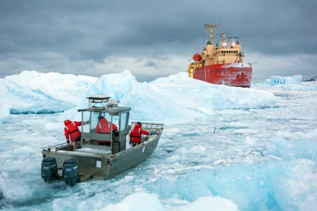 Le pôle sud
