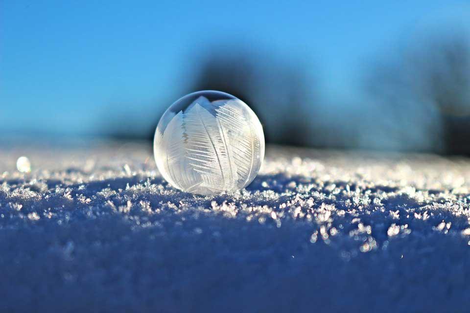 Photo bulle de savon