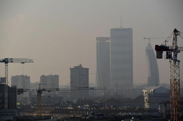 2020 La Pollution diminue en chine et en Italie
