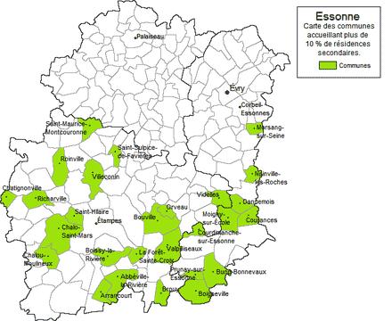 91 - Communes Essonne