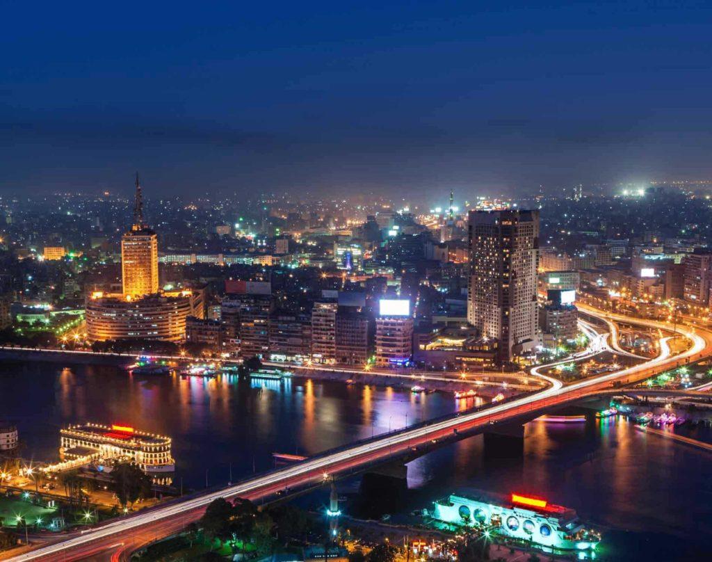 Le Caire - Photo de nuit