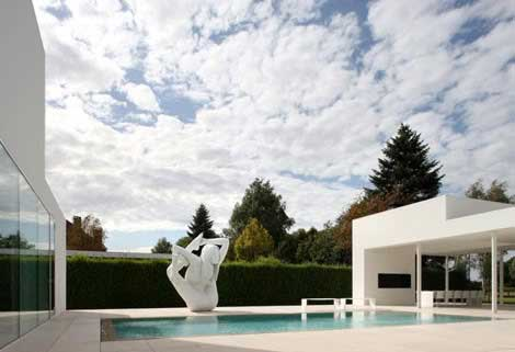 Piscine sculpture