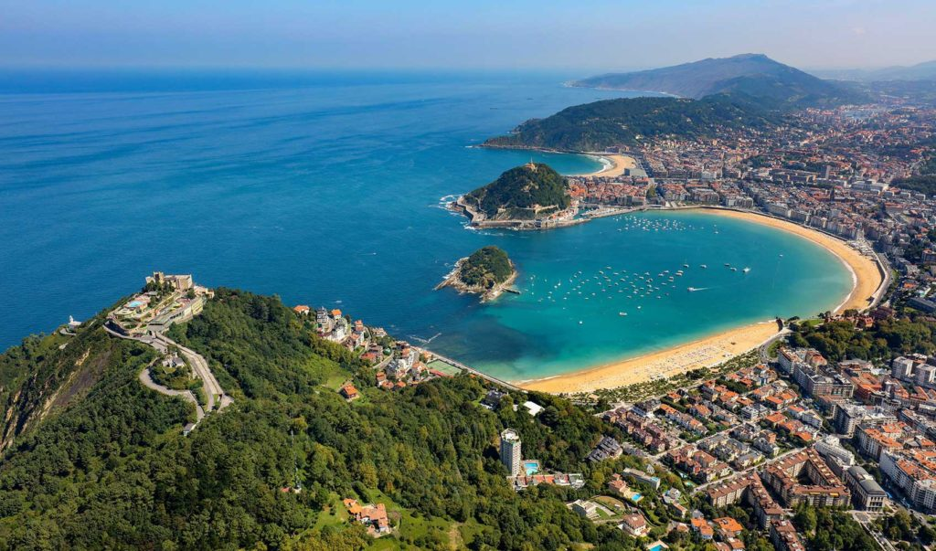 Pays Basque espagnol - Ville de San Sebastian