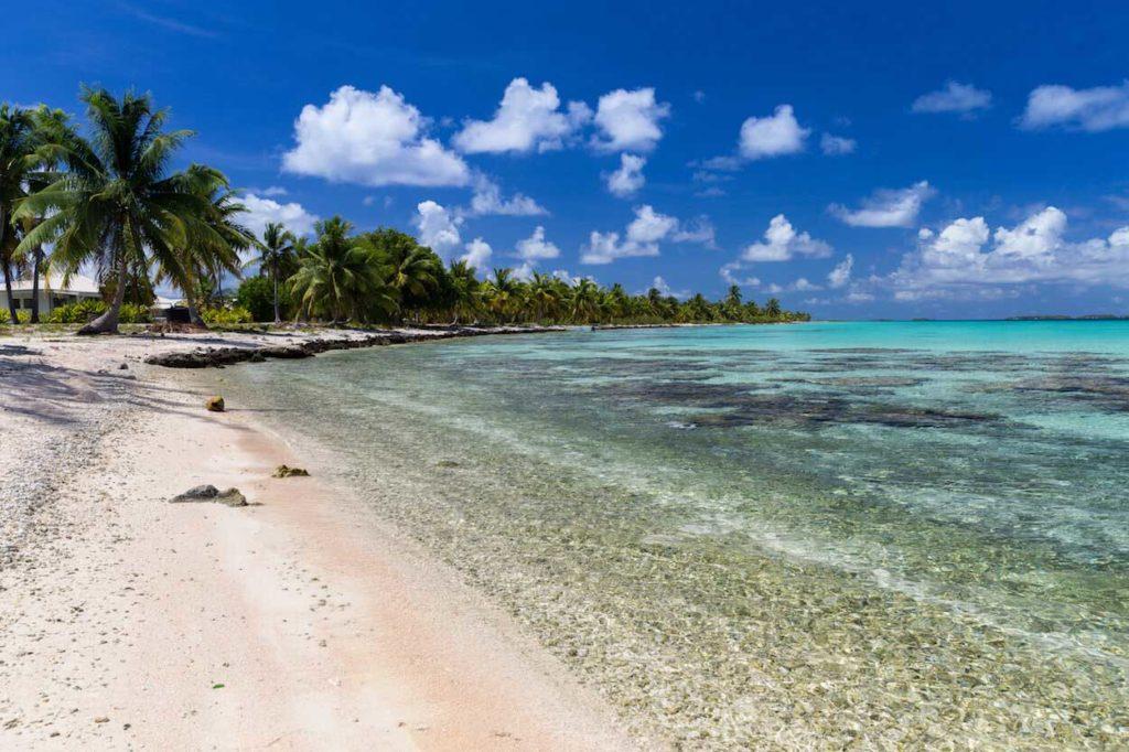 Photo d'une plage à Tahiti