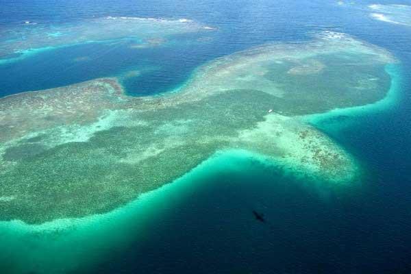 Image Vue du ciel de l'île de la Martinique