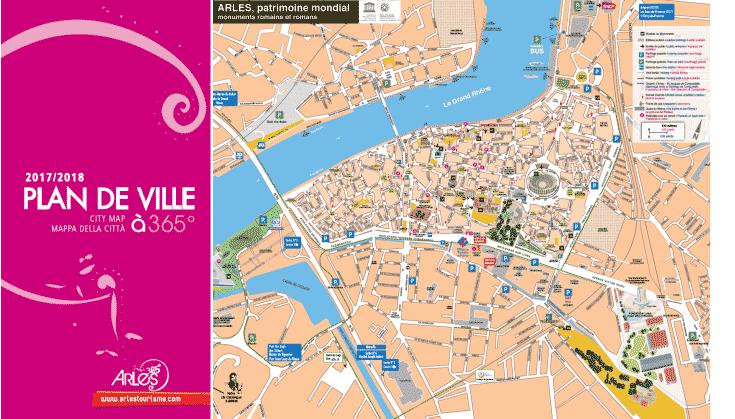 plan de Arles
