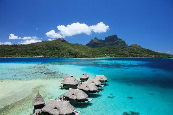 Photo panoramique - Hôtel à Tahiti