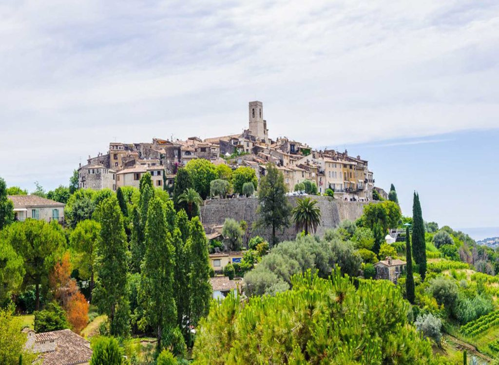 Le-cannet-Saint-paul-de-vence