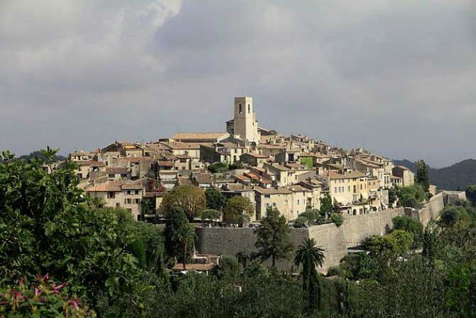 Saint-Paul-de-Vence - Photo panoramique