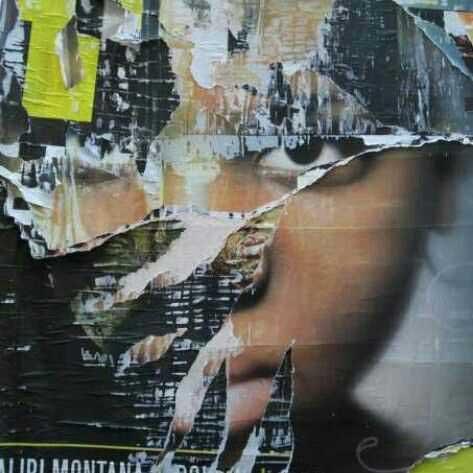 Affiche déchirée - Photo