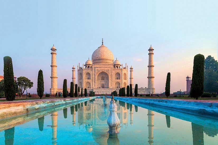 Taj-Mahal - Inde-Agra