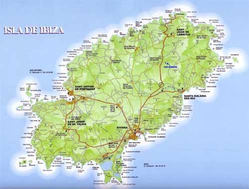Ibiza - Carte