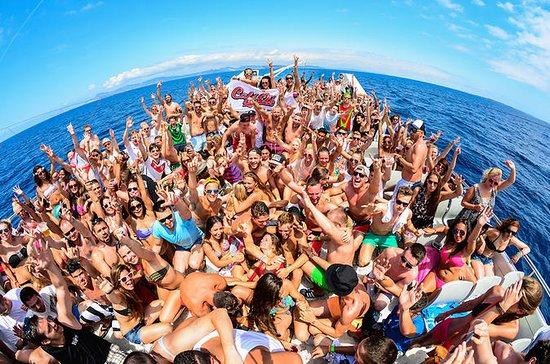 Ibiza fête en bateau
