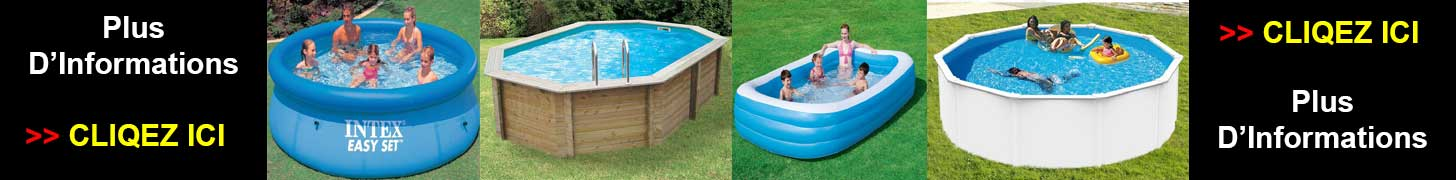 Achat piscine gonflable - Hors sol