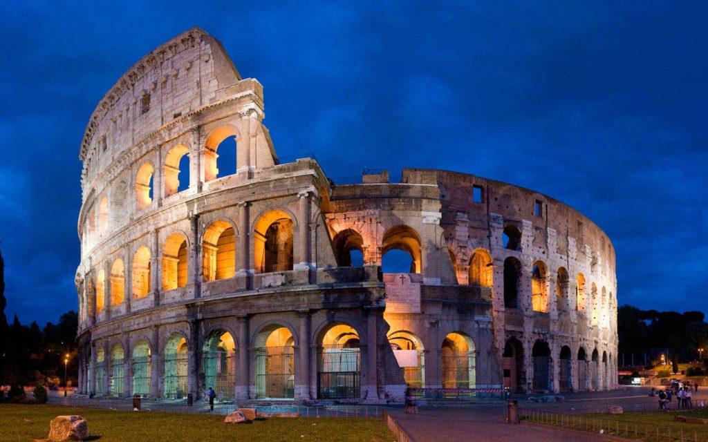 Rome - Photo de nuit