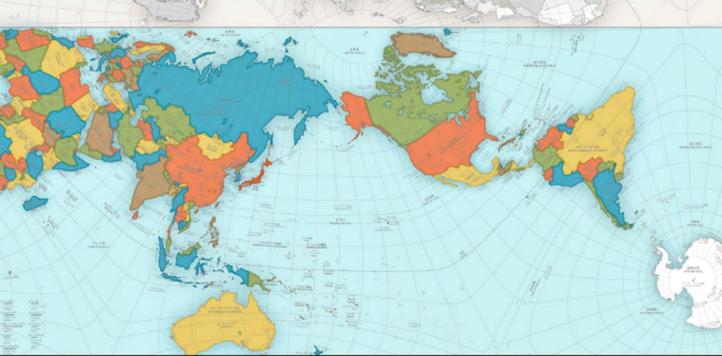 Nouveau planisphère