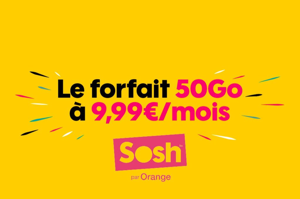 Forfait mobile Sosh